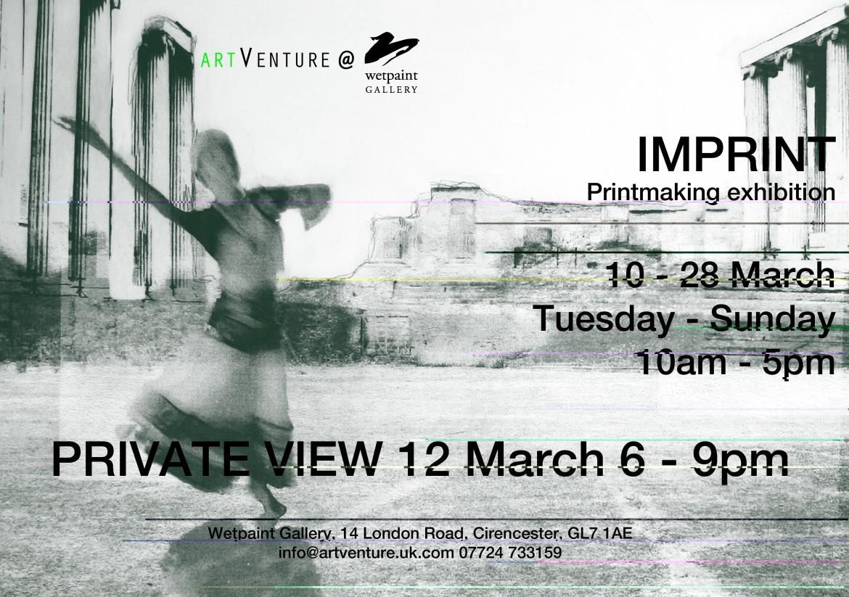 Imprint printmaking exhibition