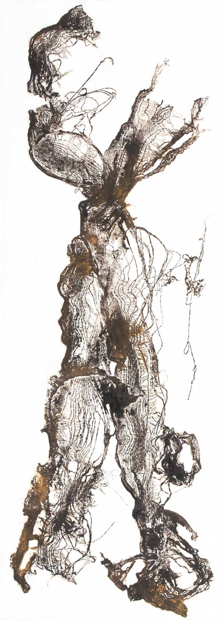 Sinclair Ashman: 'Motion I'. Collagraph print.