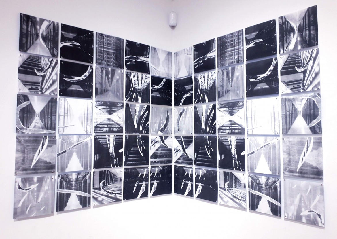 installation evoking our new technological sublime